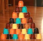 Recycler en jeux les petits pots de yogourt-3