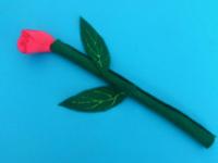 Rose à longue tige-1