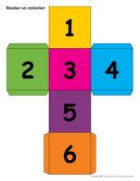Rouler et colorier-2 Dés-Pair et impair