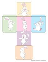 Rouler et colorier-2 dés-Lapins