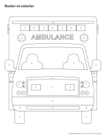Rouler et colorier 3D-Ambulanciers-Ambulancières