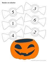 Rouler et colorier-Halloween-La sécurité