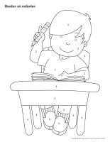 Rouler et colorier-Maternelle