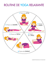 Routine de yoga relaxante