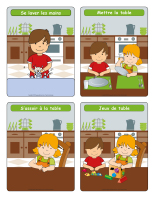 Routine du repas
