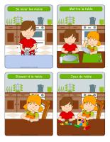 Routine imagée du repas