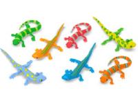 Sacs de lézards serpents et insectes colorés-1