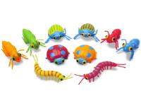 Sacs de lézards serpents et insectes colorés-2