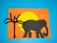 Safari au coucher du soleil-1
