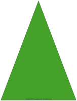 Sapins en triangles