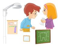 Scène chez le dentiste
