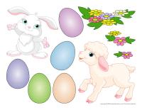 Scène de Pâques-Les tons pastel-2