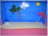 Scène du bord de la mer -8