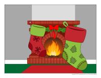 Scene tradition de Noel-Le bas de Noel