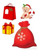 Scène tradition de Noel-Les cadeaux-2