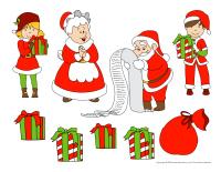 Scene tradition de Noel-Lettre au pere Noel-2