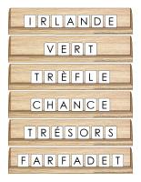 Scrabble réinventé-La Saint-Patrick