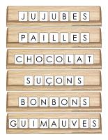 Scrabble réinventé-Pâques-Petites douceurs