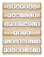Scrabble réinventé-Saint-Jean-Baptiste