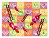 Serpents et échelles-La St-Valentin