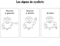 Signes du cycliste