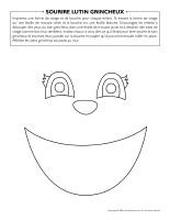 Sourire lutin grincheux