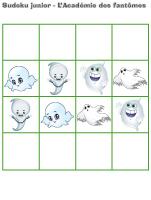 Sudoku junior-L'Académie des fantômes