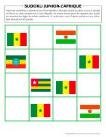 Sudoku junior-L'Afrique 2021