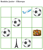 Sudoku junior-L'Europe