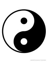 Symbole-yin yang