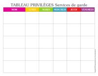 Tableau privilèges-Semaine des services de garde-1