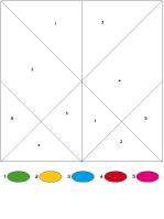 Tangrams multicolores