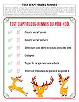 Test d'aptitudes rennes