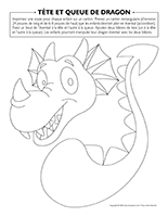 Tête et queue de dragon