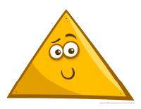 Triangles à enfiler