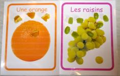 Trier des fruits avec des photos