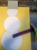 Un bricolage de bonhomme de neige pour tous les ages-3