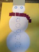 Un bricolage de bonhomme de neige pour tous les ages-5