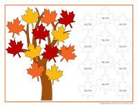 Un système de renforcement positif à saveur d'automne