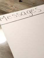 Un tableau des messages-2
