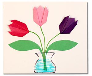 Vase de tulipe