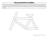 Vélo capteur de lumière