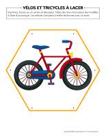 Vélos et tricycles à lacer