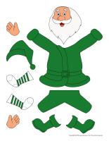 Vêtements du père-Noël-1