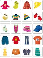 Vêtements saisonniers