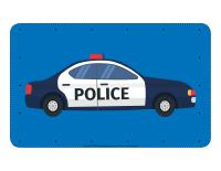 Voitures de police à lacer-1