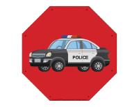 Voitures de police à lacer-2