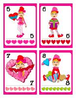 cartes à jouer-Les lutins de la Saint-Valentin-2