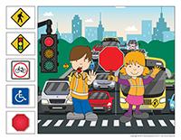 cherche et trouve-Sécurité routière