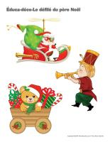 éduca-déco-Le défilé du père Noël